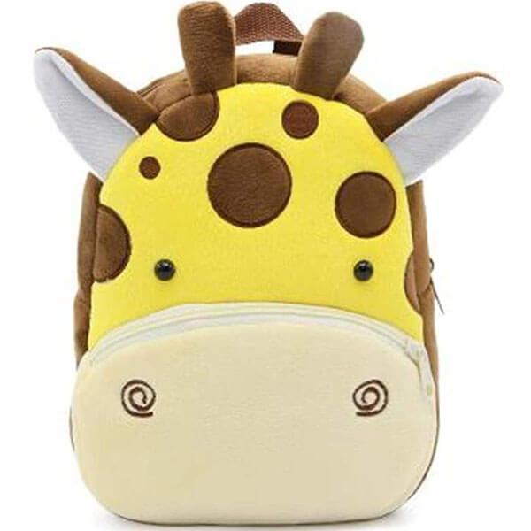 Giraffe 3D Face with Ear Backpack