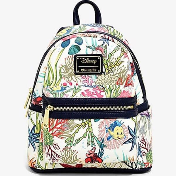 Sea Themed Disney Cartoon Backpack