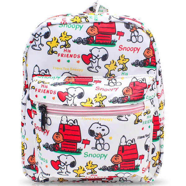 Snoopy Print Small Nylon Multipurpose Backpack