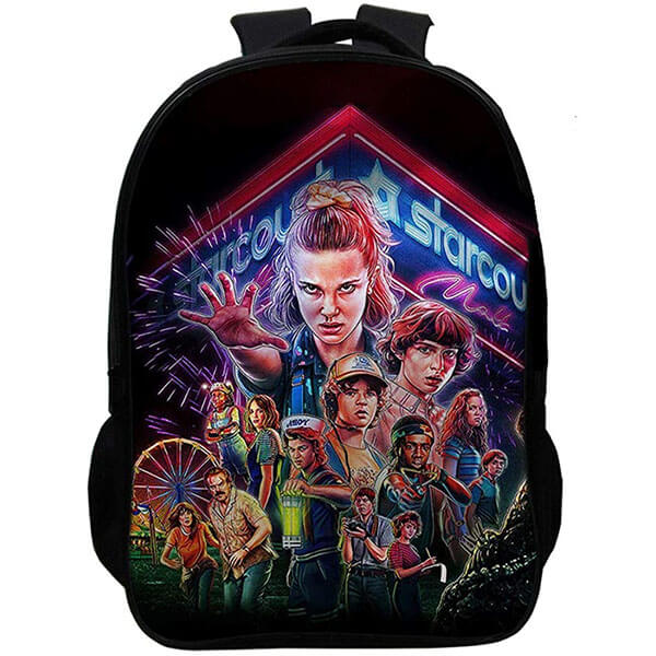 Stranger Things Season 3 Backpack with USB Charging Port