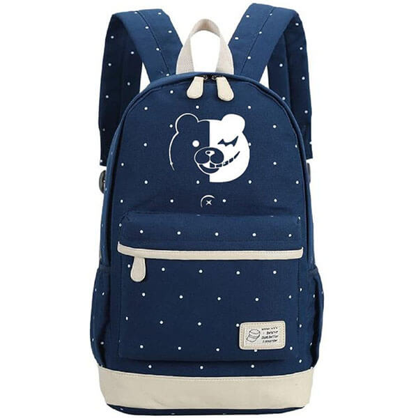 Danganronpa Backpack with Polka Dot Pattern