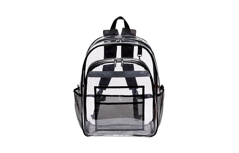 Clear Vinyl & PVC Backpacks