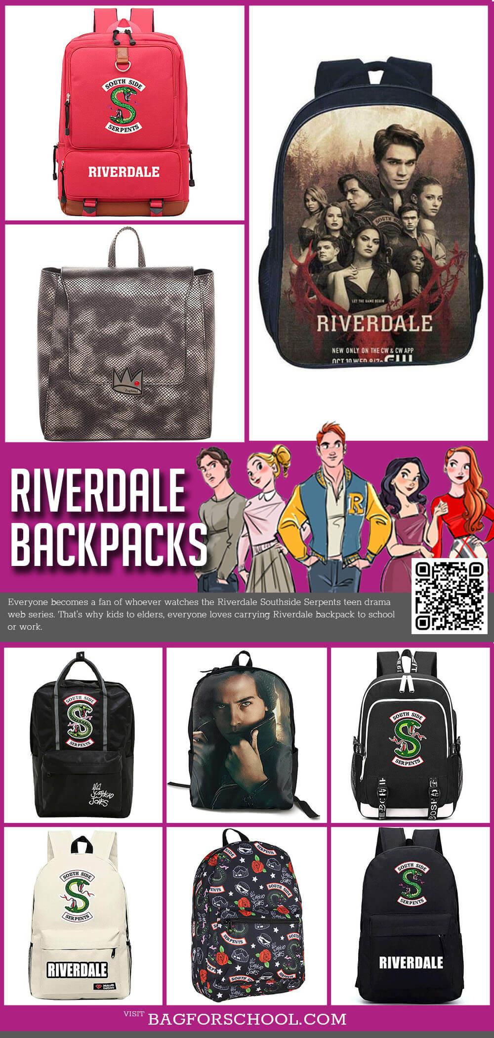 Riverdale Backpacks