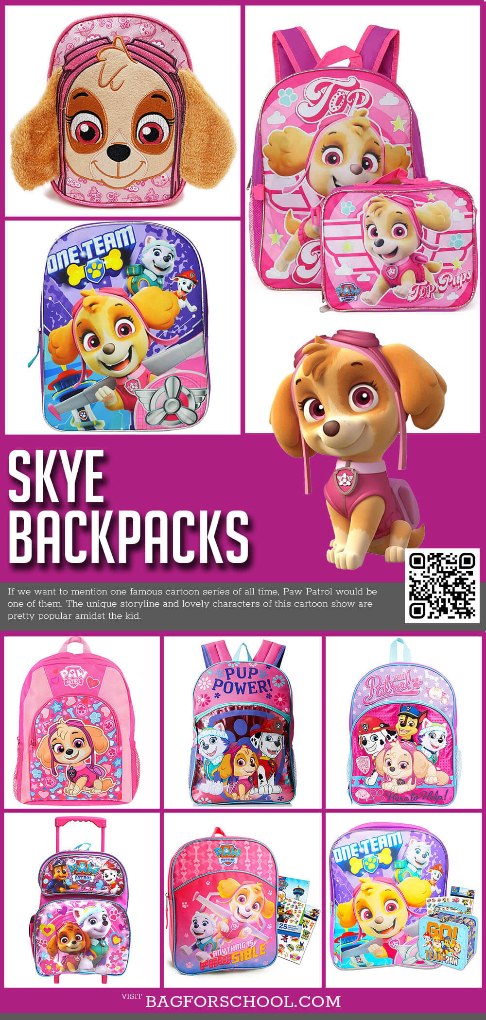 Skype Backpacks