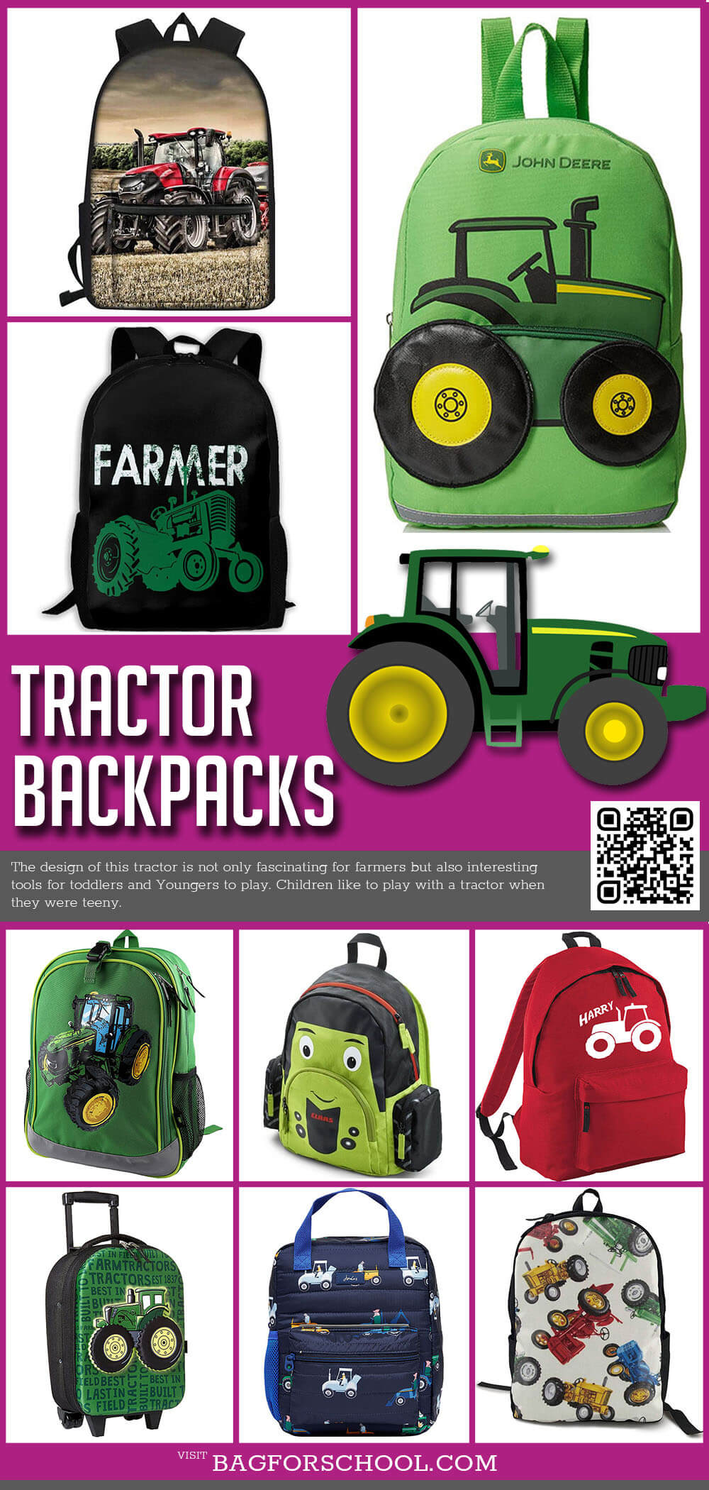 Tractor Backpacks