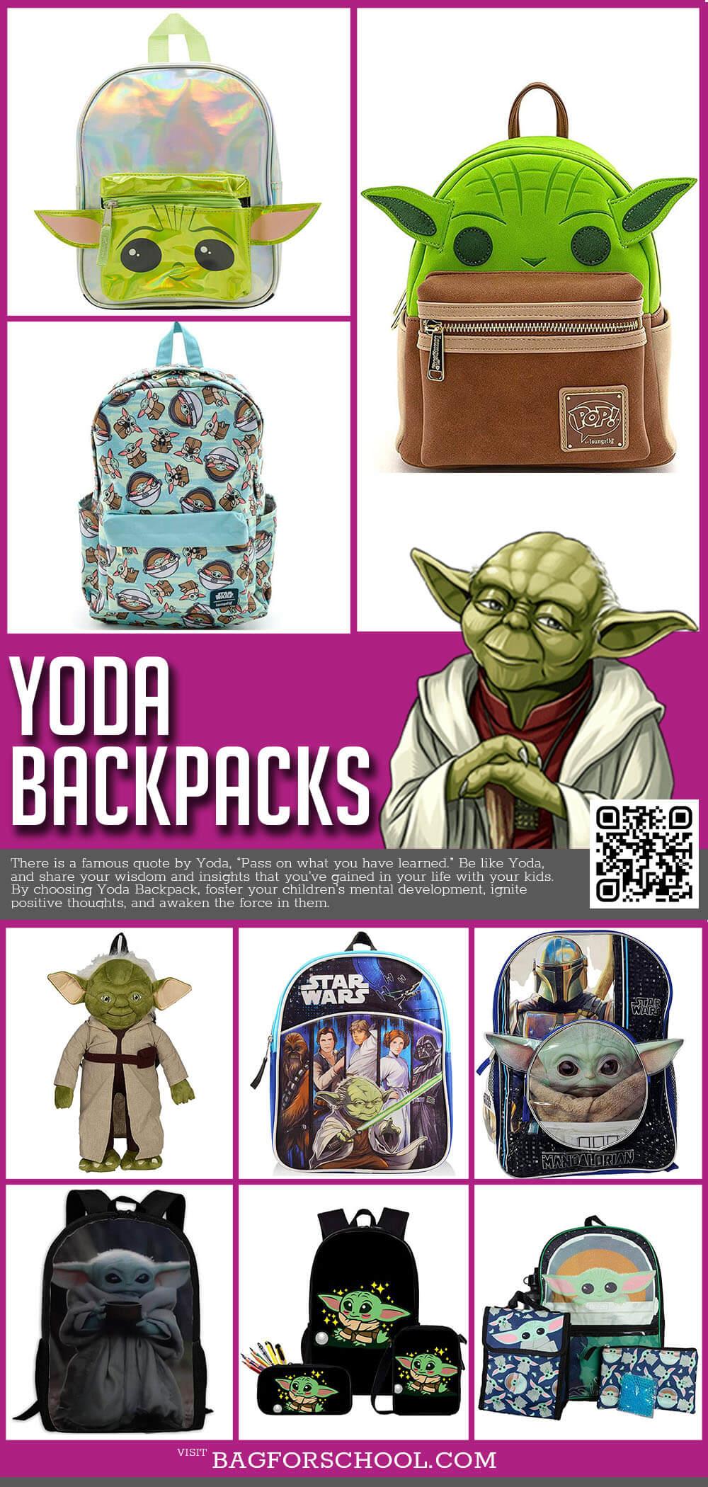 Yoda Backpacks