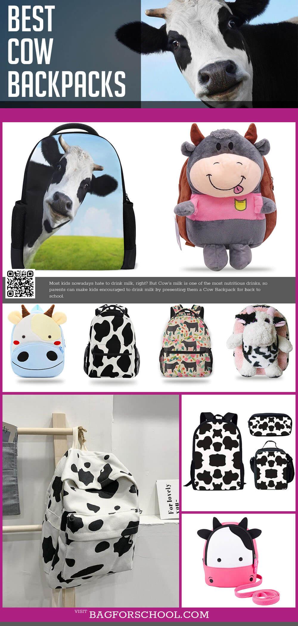 cow backpacks