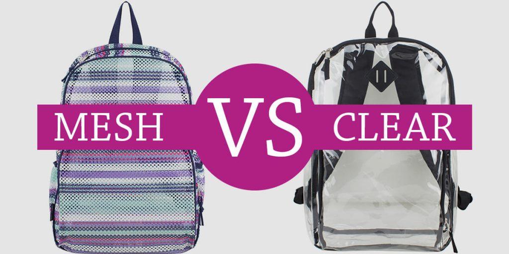 mesh vs clear