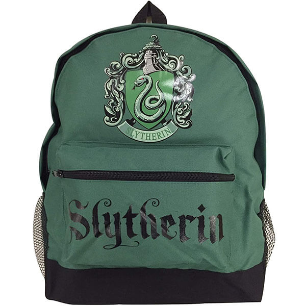 Canvas Harry Potter Slytherin Crest Backpack
