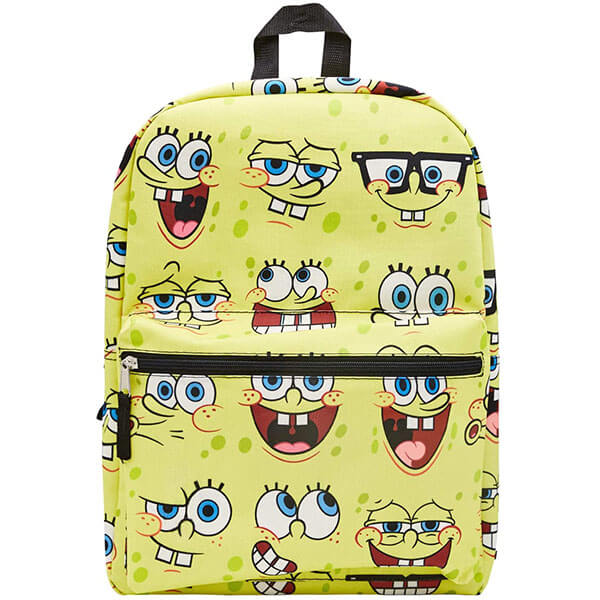 Fun Emoji SpongeBob Backpack for School