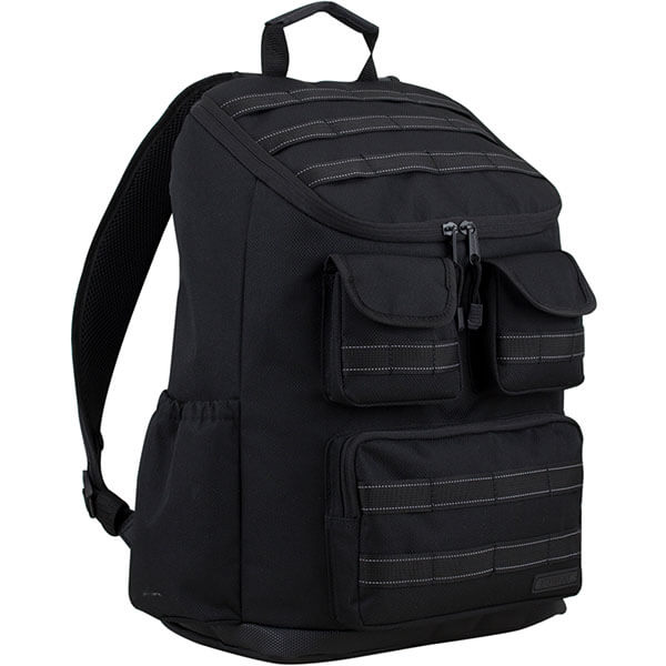 Multiple Zippered Storage Backpack