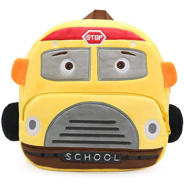 School Bus Preschool & Kindergarten Backpack