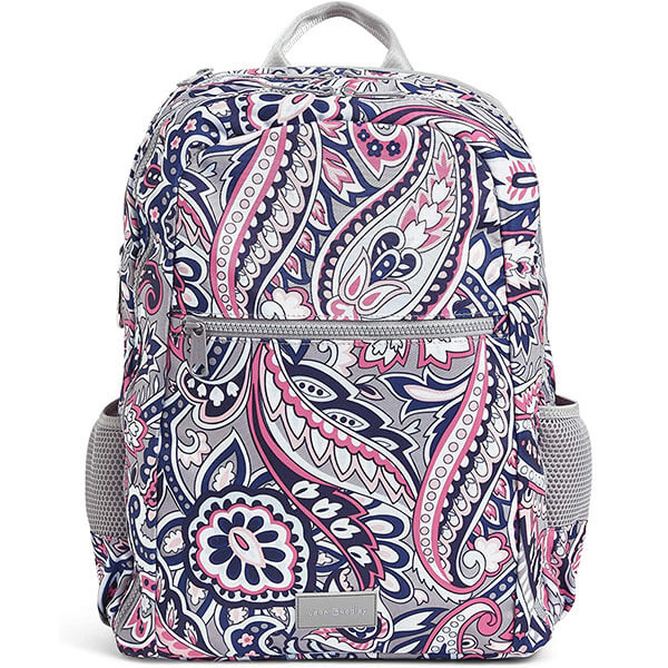 Water-Repellent Recycled Polyester Tapestry Backpack