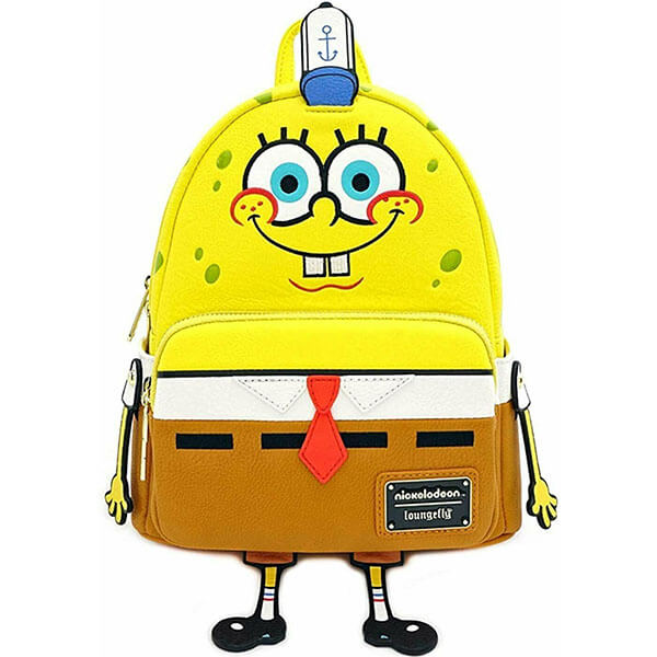 Adorable SpongeBob Mini Backpack