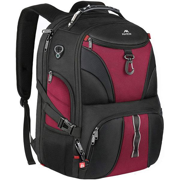 Lightweight Backpack with Theft proof Hook