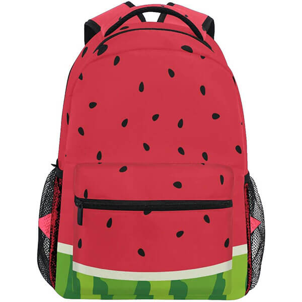 Watermelon Slice Seed Backpack for School