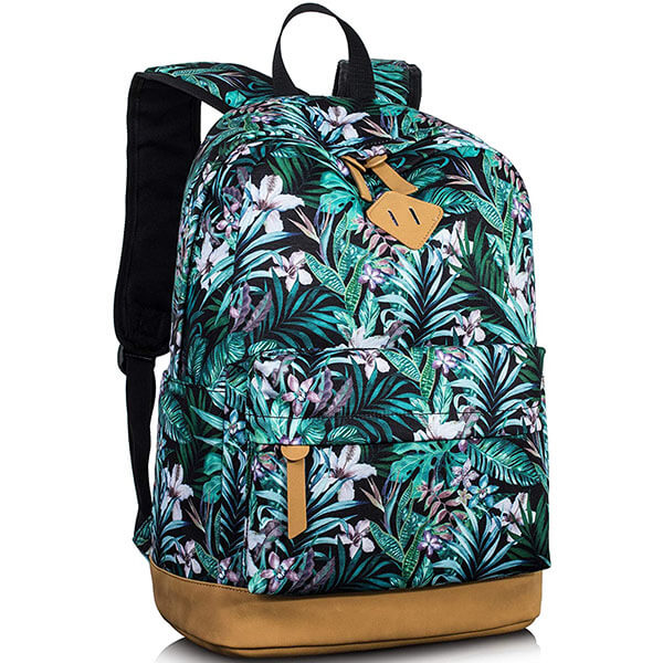 All Over Floral Print Hawaiian Backpack