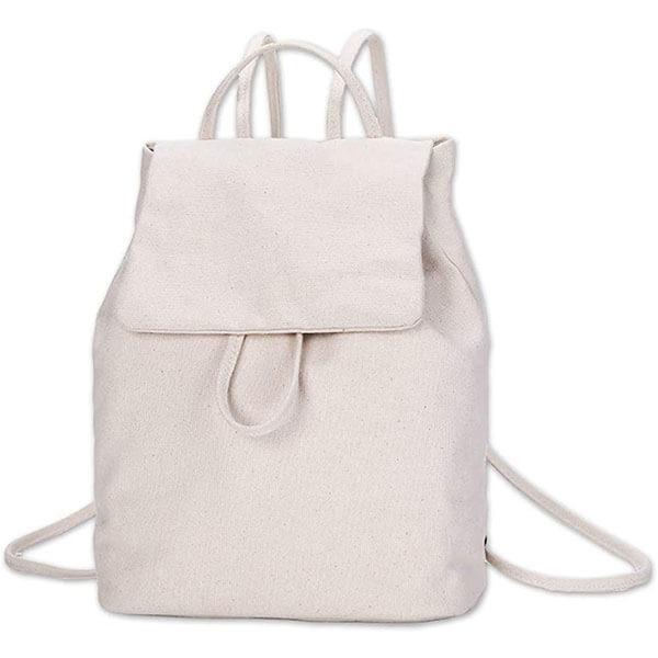 Simple Cute Canvas Mini Backpack