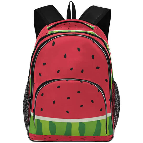 Twill Weave Fruit Laptop Backpack