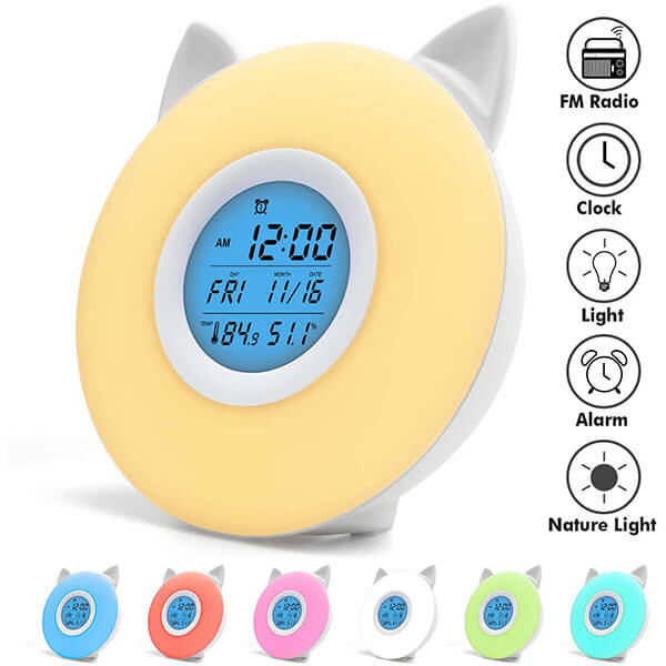 Cute Cat Alarm Clock
