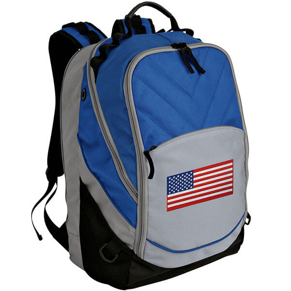 Deluxe USA Flag Backpack