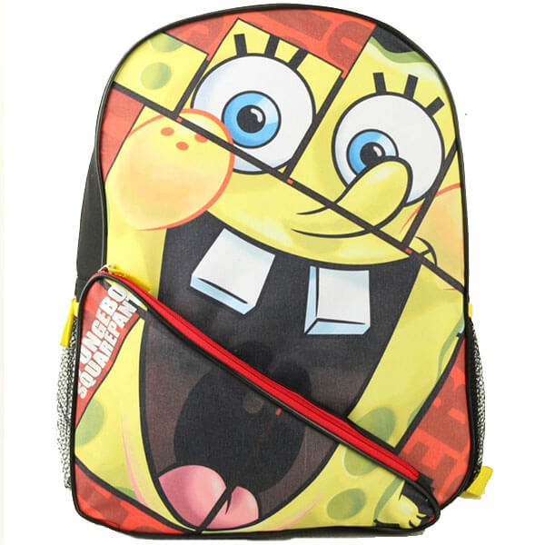 Kid's Happy SpongeBob Backpack for School