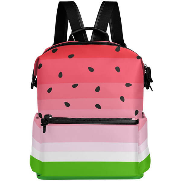 Multi-colored Watermelon Seed Backpack