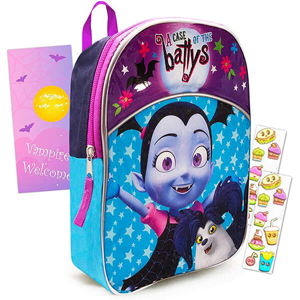 Vampirina and Wolfie Girls Bookbag Set