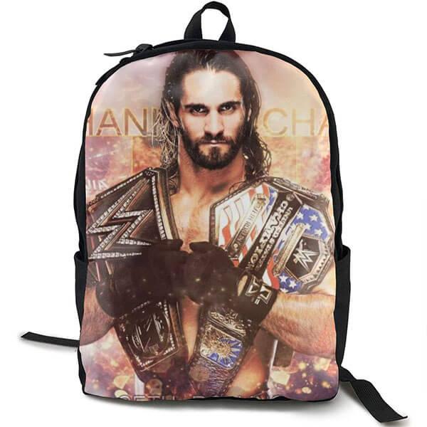 WWE Seth Rollins Black Backpack