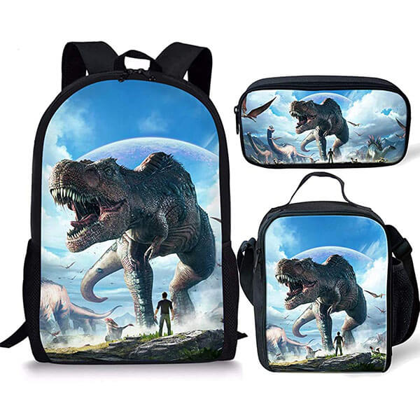 3in1 Durable Animal Backpack with Essentials Kit