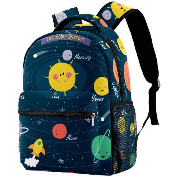 Exclusive Printed Design Waterproof Backpack