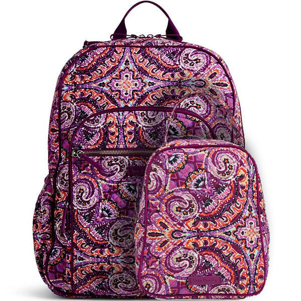 Floral Combo Tapestry Backpack and Lunch Bag