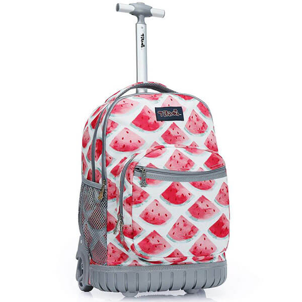 Watermelon Functional Rolling Backpack