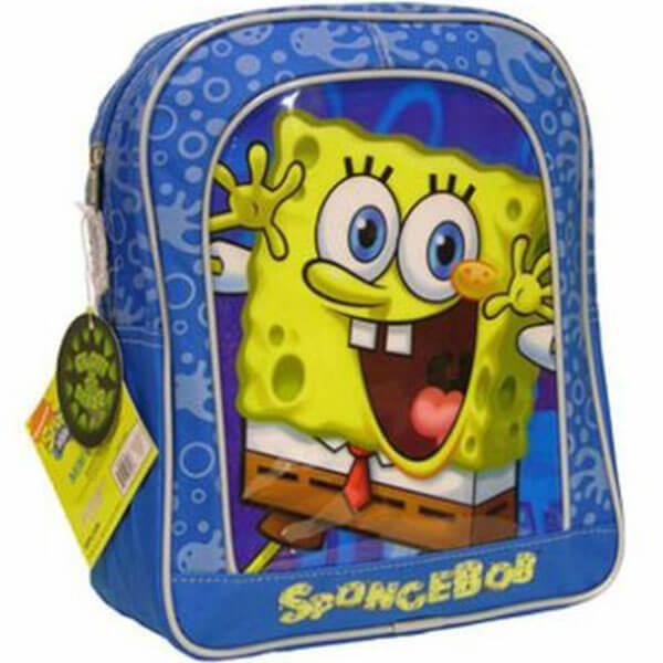 Blue Base SpongeBob Book Bag for Children