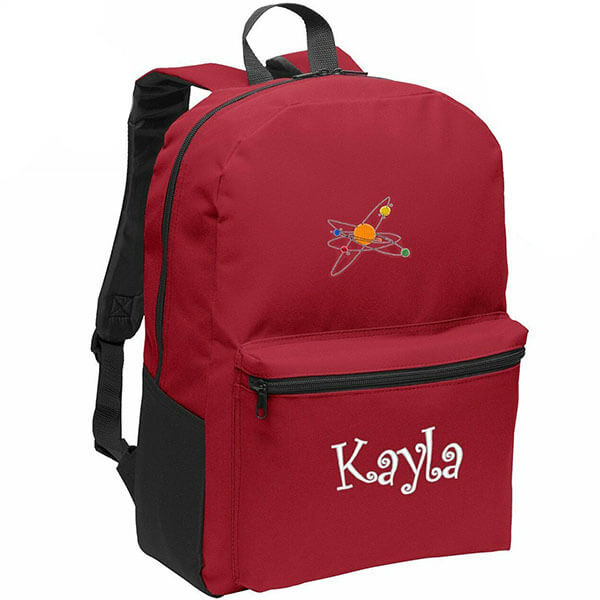 Canvas Eye-catching Backpack for Kids