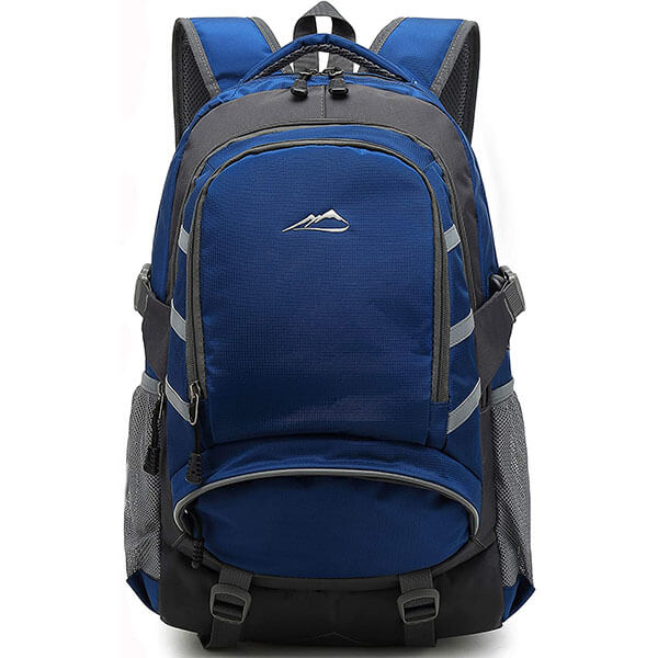 Night Light Reflective Spacious Backpack