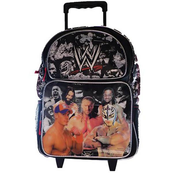 WWE Superstars Rolling Backpack