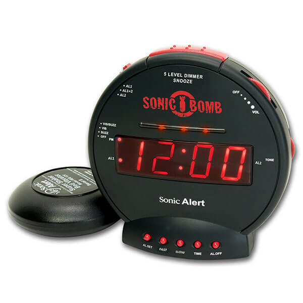 Alarm Clock with Super Shaker