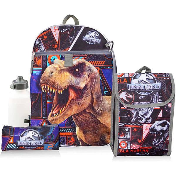Fashionable Teens Jurassic World Backpack Set