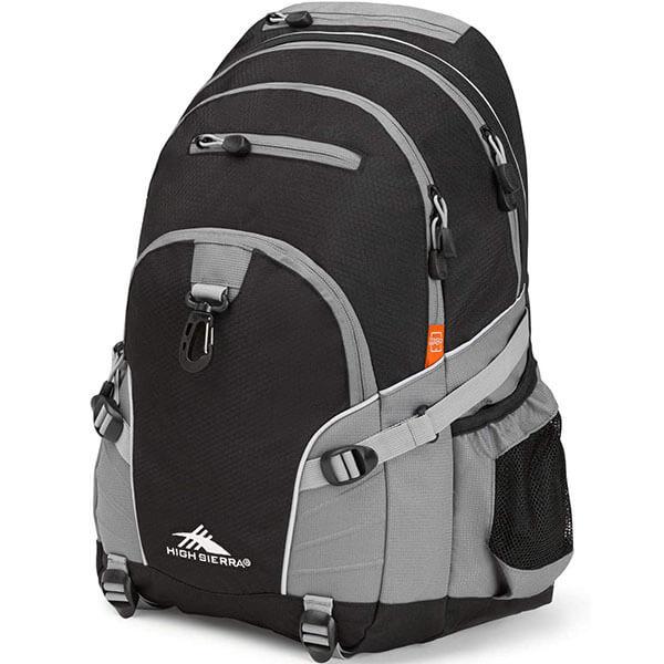 Kid's Charcoal Loop Large Backpack