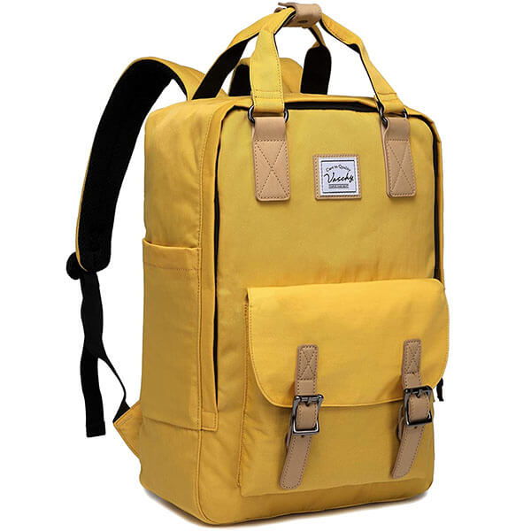 Vaschy Vintage Backpack for School