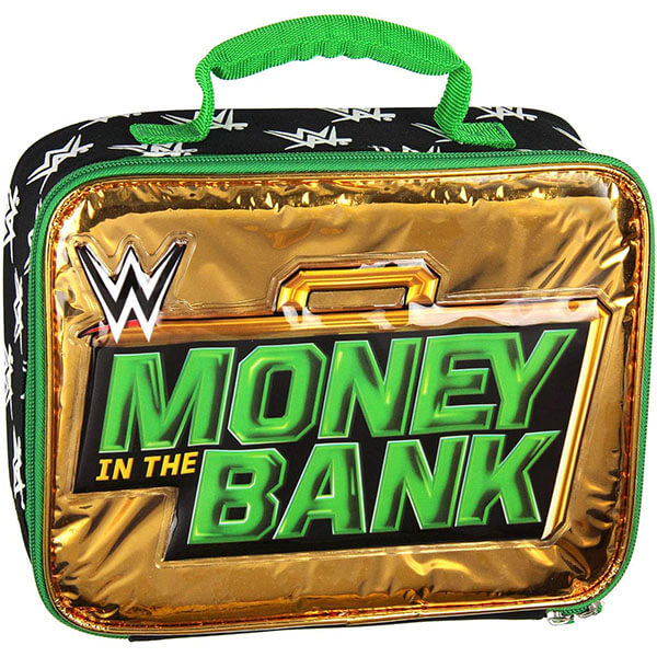 WWE Money in the Bank Lunch Bag