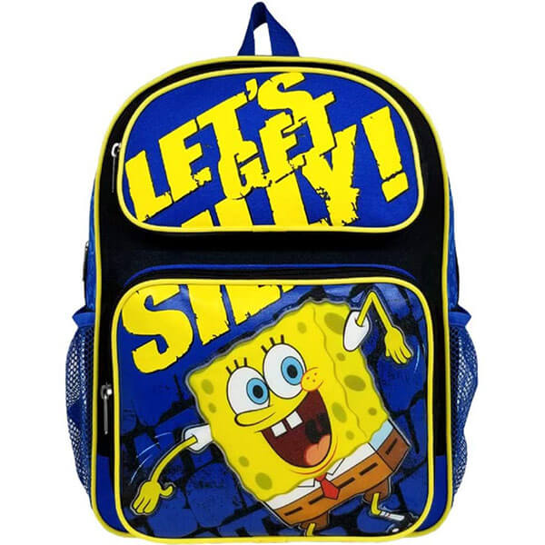 Let's Get Silly with SpongeBob Backpack