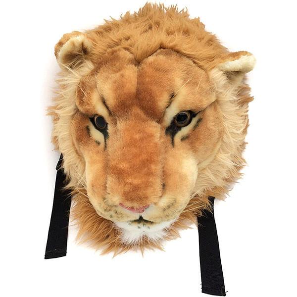 Lion Head Preschoolers Lightweight Backpack
