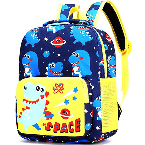 Space Stars School Backpack for Little Kids