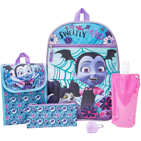 Floral Vampirina School Backpack Full Set