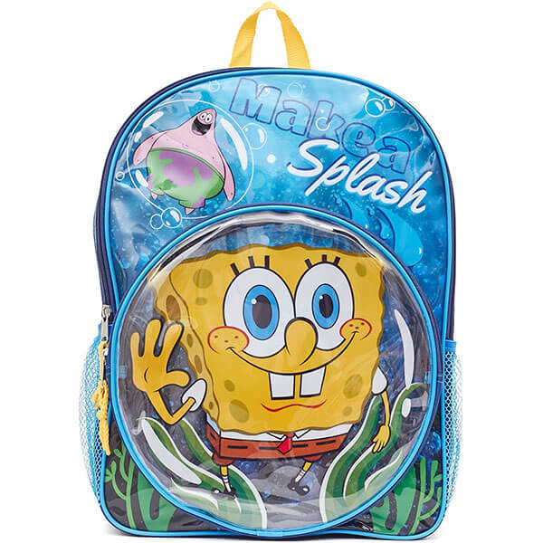 Make a Splash with SpongeBob Backpack