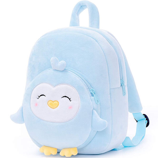 Plush Penguin Toddlers Backpack