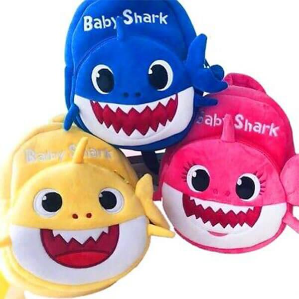 Baby Shark Cartoon Backpack for Little Kids