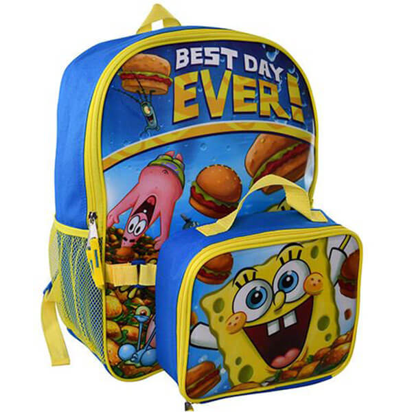 Best Day Ever-SpongeBob Backpack Set